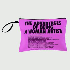 Advantages of Being a Woman Artist Clutch