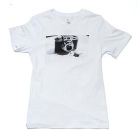 Laurie Simmons Big Camera/Little Camera T-Shirt WHITE