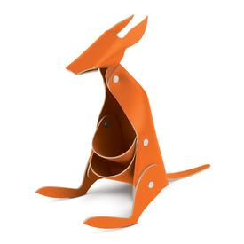 Leather Desk Kangaroo - Orange