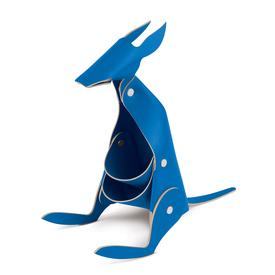 Leather Desk Kangaroo - Blue