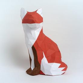 Fox Paper Sculpture Kit