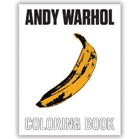 Andy Warhol Coloring Book