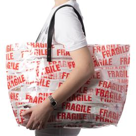 Fragile Tote - Gusset