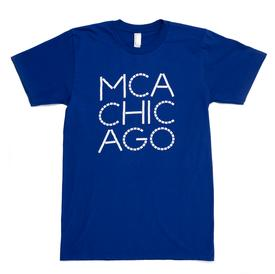 MCA Chicago T-Shirt – Blue BLUE