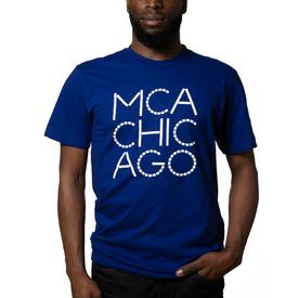 MCA Chicago T-Shirt – Blue
