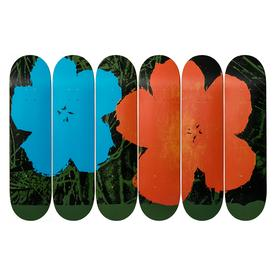 Warhol Flowers Skate Decks