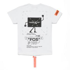 Virgil Abloh x Simon Brown FOS #199 T-Shirt WHITE_MULTI