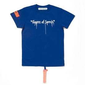 Virgil Abloh x Simon Brown FOS Blue T-Shirt
