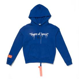 Virgil Abloh x Simon Brown FOS Blue Hoodie