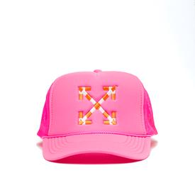Virgil Abloh MCA Double Arrow Hat - Pink PINK