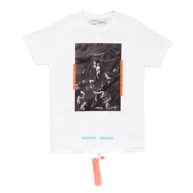 Virgil Abloh Off- White Fos Caravaggio T- Shirt - 50 % Off