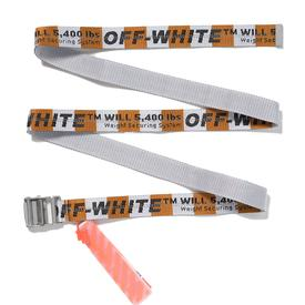 Virgil Abloh Off-White FOS Belt - Orange and White