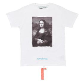 Virgil Abloh Off-White FOS Mona Lisa T-Shirt