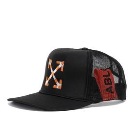 Virgil Abloh MCA Double Arrow Hat - Black
