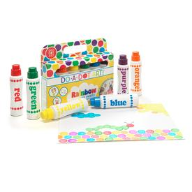 Rainbow Markers 6-Pack