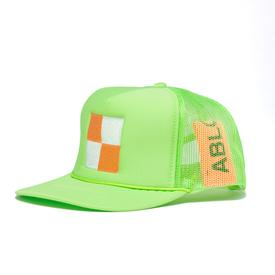 Virgil Abloh MCA Check Hat - Green