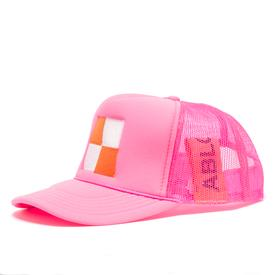 Virgil Abloh MCA Check Hat - Pink