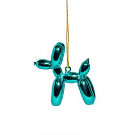 Balloon Puppy Ornament - Blue