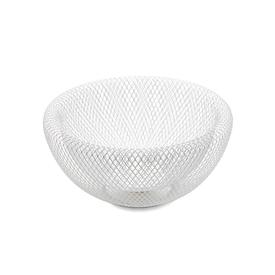 Mesh Double Wall Bowl - White WHITE