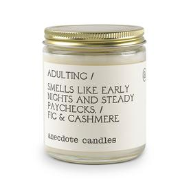 Anecdote Candle Adulting