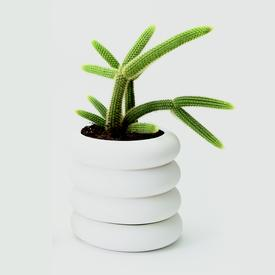 Stacking Planter Large - White