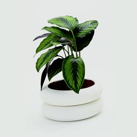 Stacking Planter Small - White