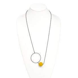 Halo and Orb Necklace