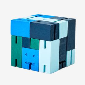 Small Cubebot - Blue Multi BLUE_MULTI