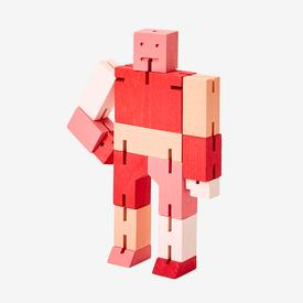 Small Cubebot - Red Multi