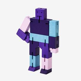 Small Cubebot - Purple Multi