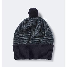 Tivoli Pom Hat - Navy, Ink + Wolf Grey