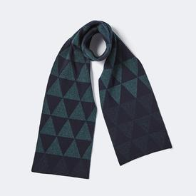 Archipelago Small Scarf - Ink + Navy