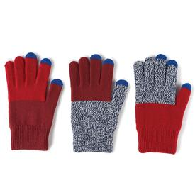 Pair and Spare Gloves - Red Blue