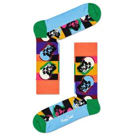 Andy Warhol Skull Sock