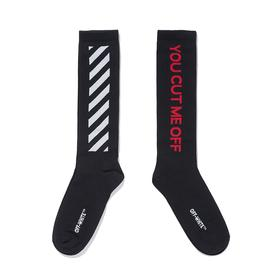 Virgil Abloh Off-White You Cut Me Off Socks