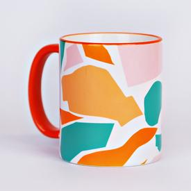 Cut Out Shapes Mug
