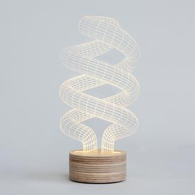 Spiral Table Lamp
