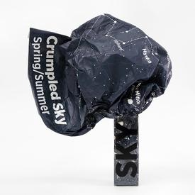 Crumpled Night Sky Map- Spring/Summer