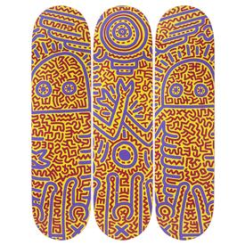Keith Haring Untitled (1984) Skate Decks
