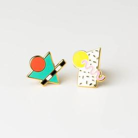 Eighties Memphis Earrings