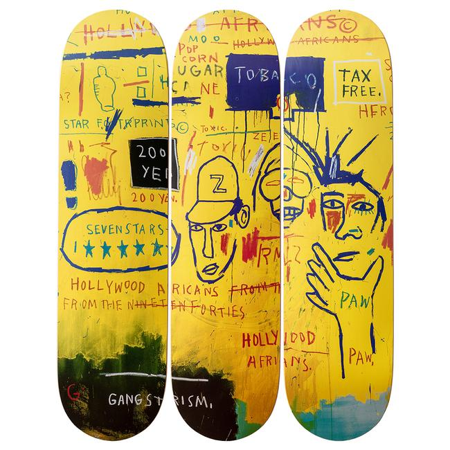 Basquiat Hollywood Africans Skate Decks