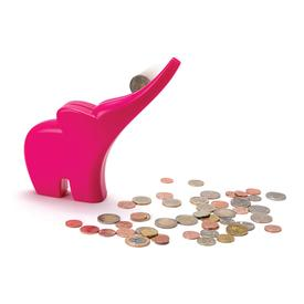Elli Elephant Coin Bank - Pink PINK