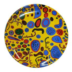 Kusama Love Was Infinitely Shining Plate