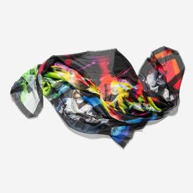 Electric Silk Scarf