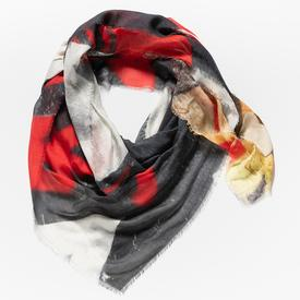 Red Street Silk Scarf SILK