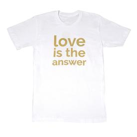 Carlos Rolon Love is the Answer T-Shirt WHITE