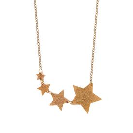 Shooting Star Necklace - Gold Dust