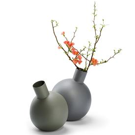 Balloon Vase - Large Grey