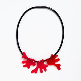 Takara Red Coral Necklace RED