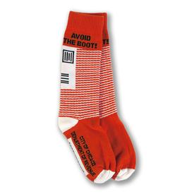Parking Ticket Chicago Socks